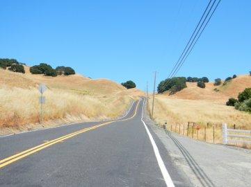 Pig Farm Hill-steep 13-15% grades