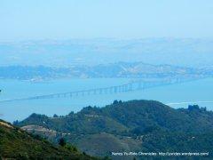 view of San Pablo Bay-richmond San Rafael Bridge