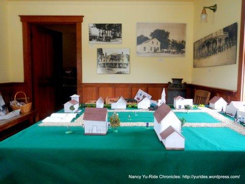 inside Nicasio Historic Society Bldg