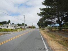 exit town on CA-1 N