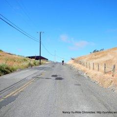 steep climb up Spring Hill Rd