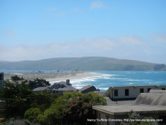 view of Dillon beach/Tomales Point