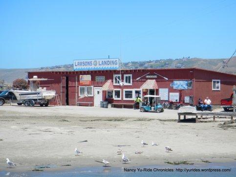 Lawsons Landing bait shop