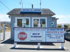 Lawsons Landing entrance