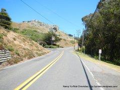 climb out on Dillon Beach Rd