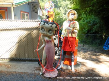 Betty Boop and friend