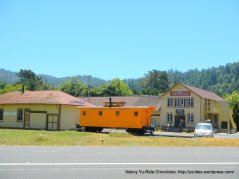 old train depot boxcar