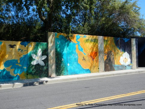 Franklin Canyon Rd murals