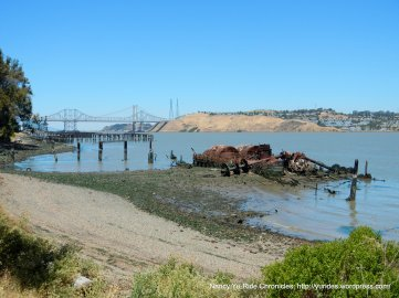 view of Carquinez Bridge/Strait