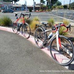 at Park & Ride lot