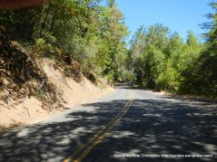 steep climb up Dry Creek Rd