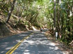 steep climb up Dry Creek Rd