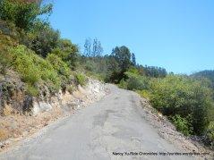 climb Cavedale Rd