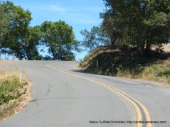 Mt Veeder climb-false summit