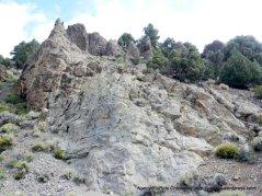 rugged canyon wall