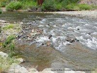 rushing river