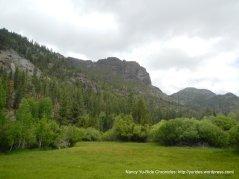 jagged peaks-green meadows