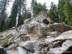 granite rock formations