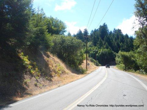 climb Nicasio Valley Rd