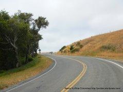 climb up Olema Hill