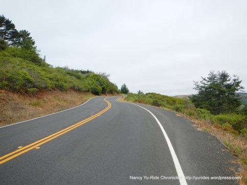 steep climb on Hwy 1 N