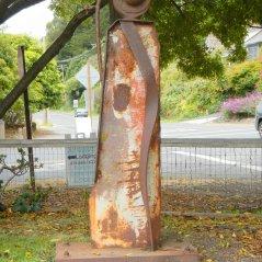 Stinson Beach Park sculpture