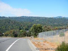view of Moraga hills