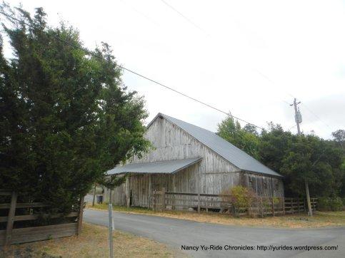 old wood barn
