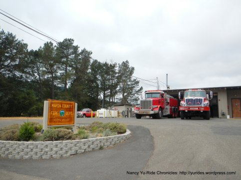 marin cty fire station