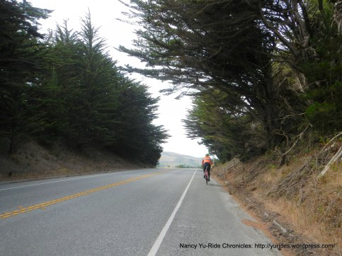 CA-1 S climb to Stage Rd