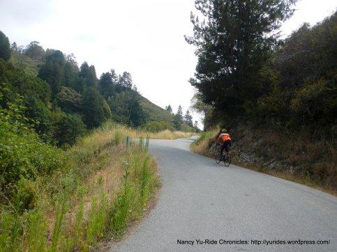 Higgins Canyon climb