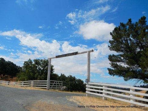 Diablo Ranch entrance