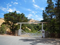 Diablo ranch entrance