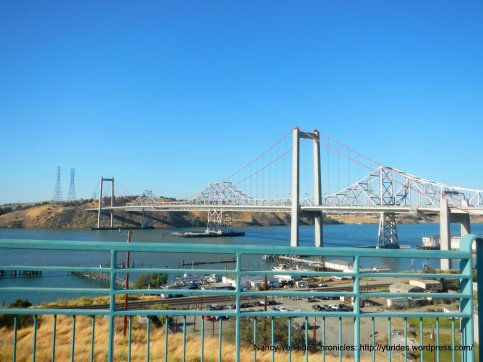 view of zampa carquinez bridge