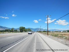 US-395 wide shoulder