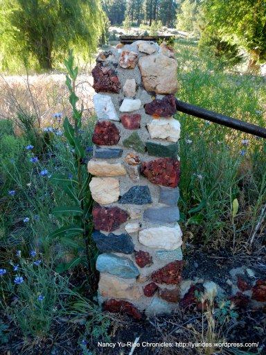 stone post