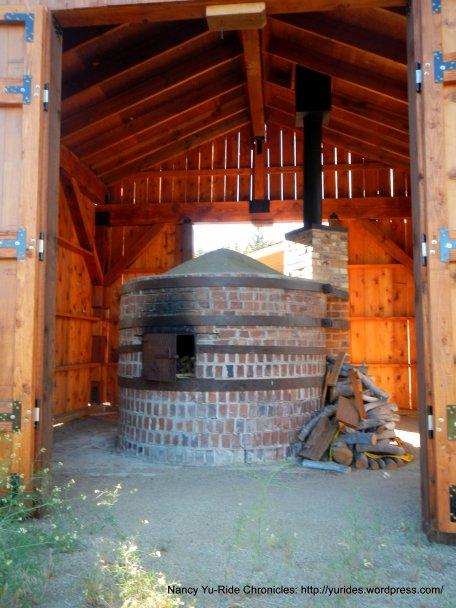 open kiln oven