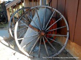 wooden wagon wheels