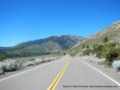 climb up Emigrant Trail