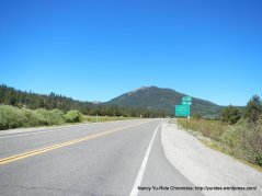 CA-88 w to Picketts Junction