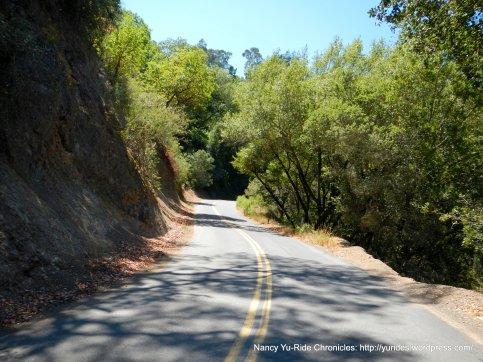 steep climb up pinehurst