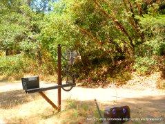 artsy bicycle mail box