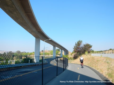 Benicia Martinez Bike/ped path to benicia