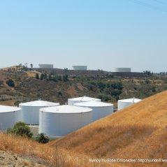 refinery tanks