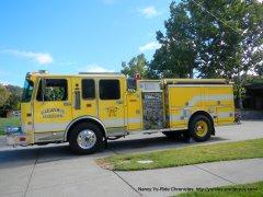 Marinwood Fire truck
