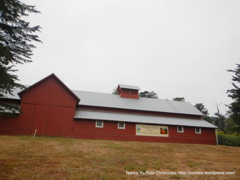 red barn-bear valley vistor center