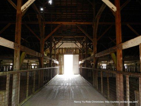 hay barn interior