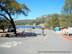 lake hennessey boat launch area