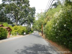 san anselmo ave bike route
