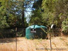 water tank at summit